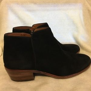 Sam Edelman Women's Black Suede Ankle Boot 7M